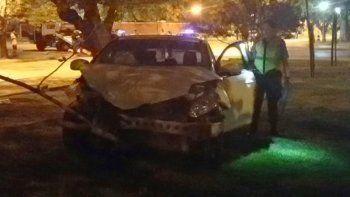 la sacaron barata: chocaron y hubo tres heridos leves