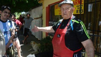 carnicero solidario: no se trata de ganar plata, sino de vivir