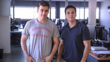 Sebastián López Mesa y Nicolás Panozo, creadores de Insite, cursan la Licenciatura en Computación en la UNCo.