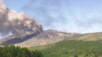 El volcán Copahue