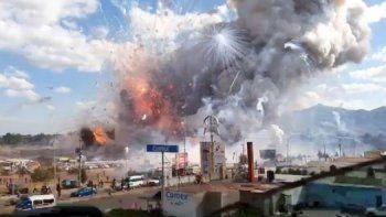 Explotó un mercado de pirotecnia: al menos 26 muertos y 70 heridos