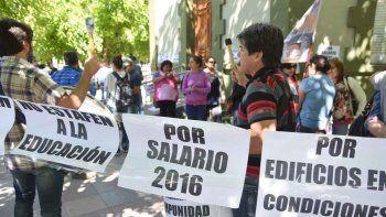 ATEN acusa al Gobierno de poner en riesgo el inicio de clases