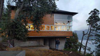 Macri inaugura un centro de convenciones en Villa Traful