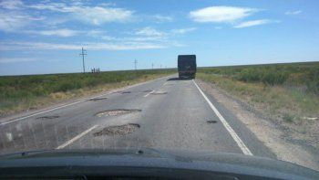 Indignación por el estado de un sector de la Ruta 151