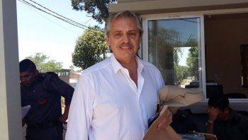 Alberto Fernández: La detención de  Sala es arbitraria