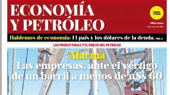 Las productoras y el precio del petróleo