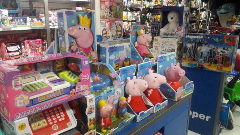 Los juguetes de Peppa Pig, lo más vendido para Reyes