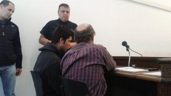 Jonathan Omar Arroyo en la audiencia de formulación de cargos.