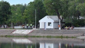 El balneario Albino Cotro fue clausurado por contaminación.