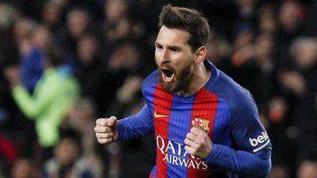 con gol de messi, el barcelona le gano 3 a 1 al bilbao y paso a cuartos de final de la copa del rey