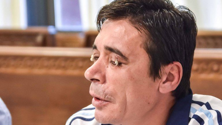 Alejandro Forno habló durante la audiencia frente a la jueza Álvarez.