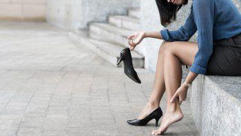 ¿usar taco alto te duele? aprende a relajar los pies