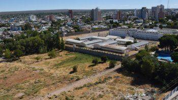 La Municipalidad comenzó con los trabajos de mensura en las instalaciones de la cárcel de la ciudad.