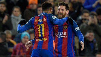 Messi lleva tres goles, todos de tiro libre, desde que arrancó el 2017.
