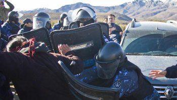 represion a mapuches deja a varias personas heridas de gravedad