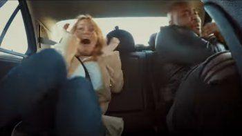 ex piloto simulo ser taxista y asusto a los pasajeros