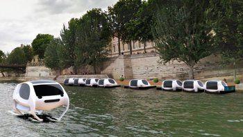 El futuro llegó: taxis voladores eléctricos recorrerán el río Sena