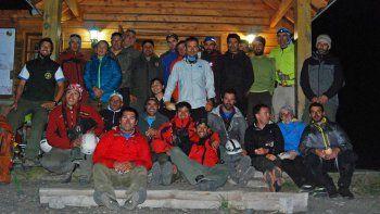 Finalizó con éxito el operativo de rescate en el volcán Lanín