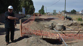 provincia anuncio la terminacion de obras cloacales en la ciudad