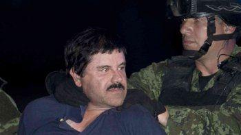 El Chapo está detenido en un penal de máxima seguridad en México.
