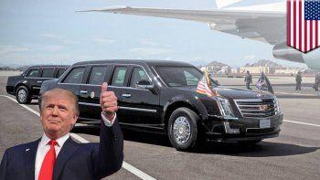 La puerta es tan pesada que el propio Trump no podrá abrirla solo.