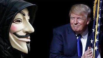anonymous amenazo con revelar informacion de trump