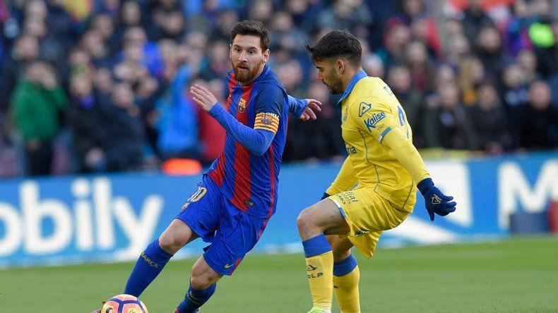 Leo inició el año con todo: metió tres goles de tiro libre en tres partidos.