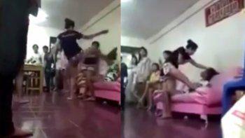 La víctima de la infidelidad practica kick boxing y muay thai.