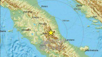 tres terremotos en una hora hicieron temblar el centro de italia