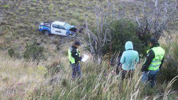 tres policias heridos tras caer 50 metros por un barranco