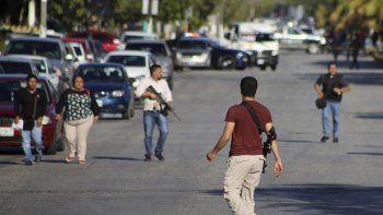 mas tiros mexicanos, ahora contra la fiscalia en cancun