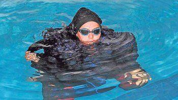 Las deportistas iraníes siempre deben cubrir su cuerpo.