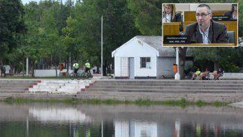 para el quiroguismo, la provincia es la responsable de los rios