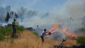 se registraron  40 incendios de pastizales en lo que va de enero