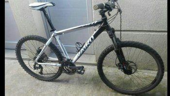 La bicicleta Vairo que se robó el delincuente de la casa de Jonatan.