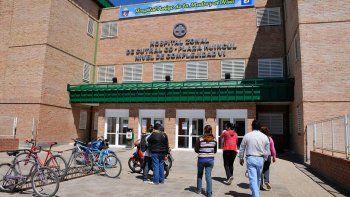 inauguraran un helipuerto en el hospital de la comarca petrolera