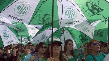 ultimatum de ate: sin aumento salarial, se viene un plan de lucha