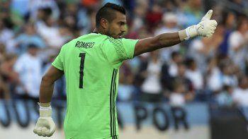 Romero le dijo que no a la oferta de Boca por 16 partidos.