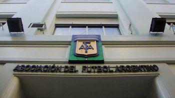 afa: el tribunal de disciplina aprobo votar en febrero
