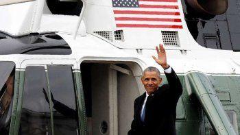 con un emotivo discurso para la gente, se despidio obama