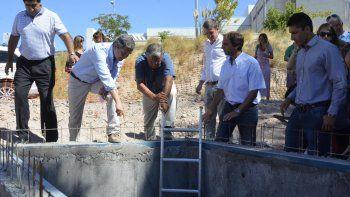 en dos semanas finalizaran las obras para evitar inundaciones