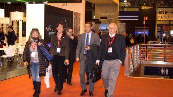 espana: gutierrez presento los atractivos neuquinos
