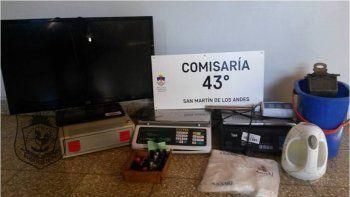 Tras una investigación, la Policía recuperó todos los elementos robados.