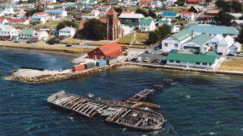Una vista aérea de las Islas, donde hoy viven más de 2900 personas.