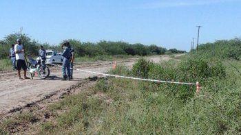 Uno de los lugares donde se encontraron restos de la víctima, en Ibarreta.