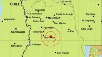un sismo de 4,9 grados sacudio a mendoza