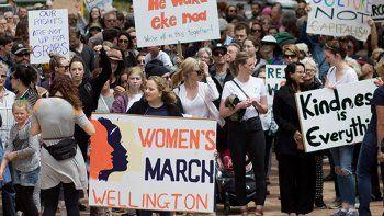 marcha de mujeres: comenzo hoy la mayor protesta contra trump