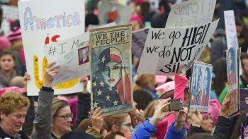 marcha de mujeres: 500 mil gritos de resistencia contra trump