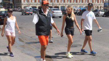 En noviembre se supo que había viajado a Punta Cana con su novia.