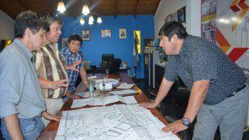 un barrio que promete tener un centro de recreacion